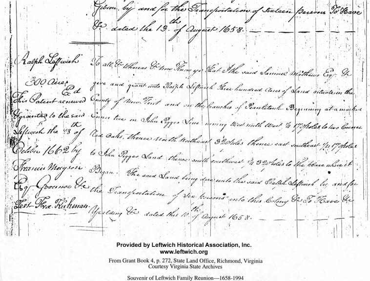 Copy of Ralph Leftwich Land Grant Renewal