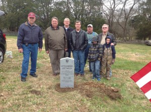 Littleberry Leftwich, CSA marker ceremony